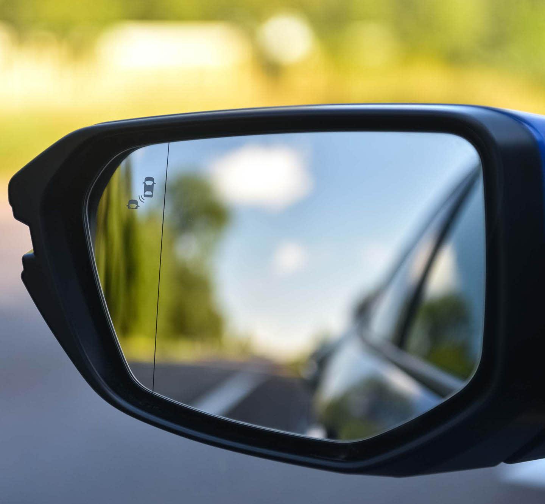 blind spot warning