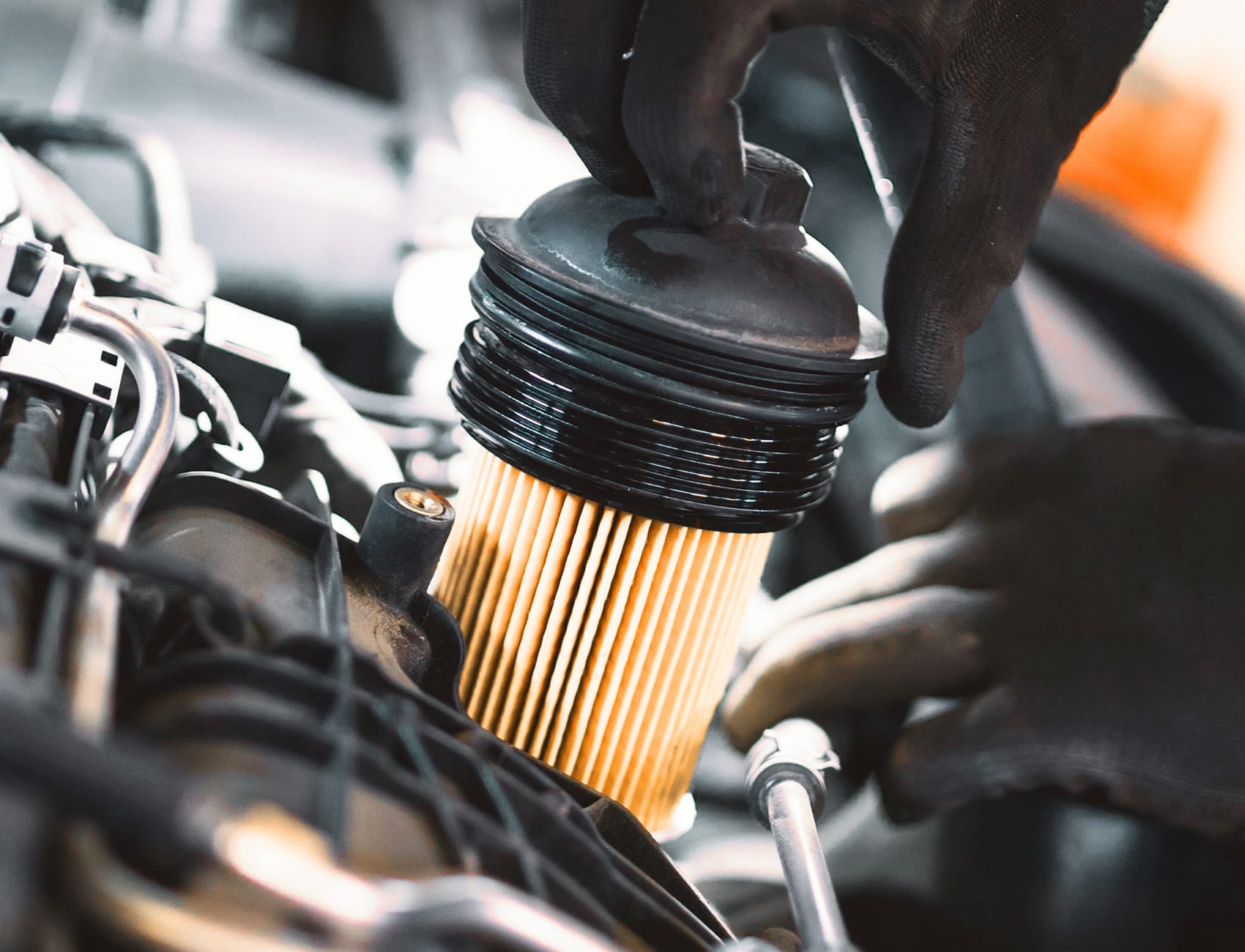 clogged fuel filter