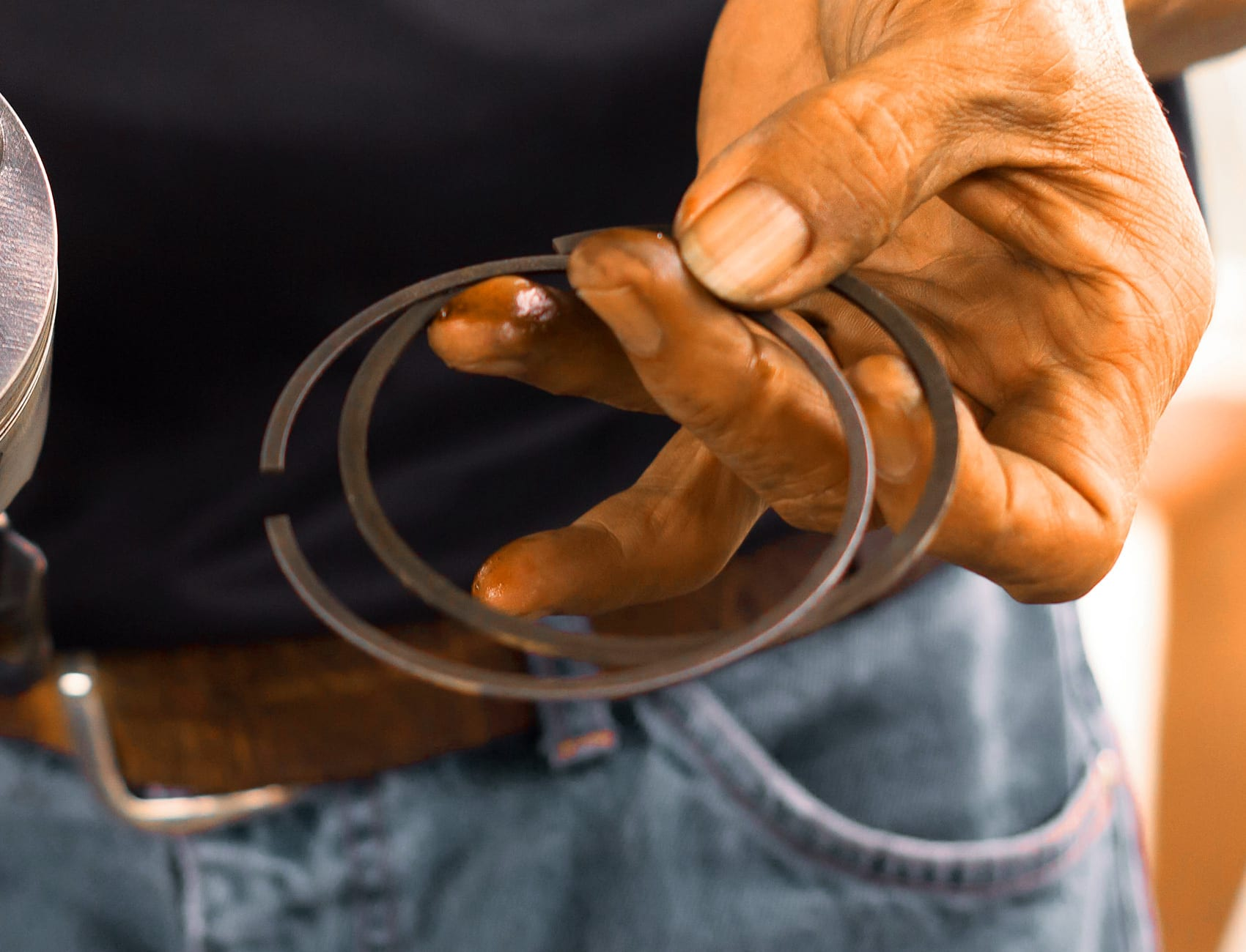Worn-Out Piston Rings