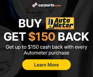 autometer cash back