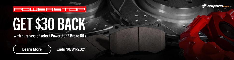 powerstop brake kit mail in rebate