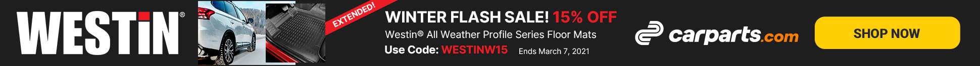 westin profile series flash sale extended