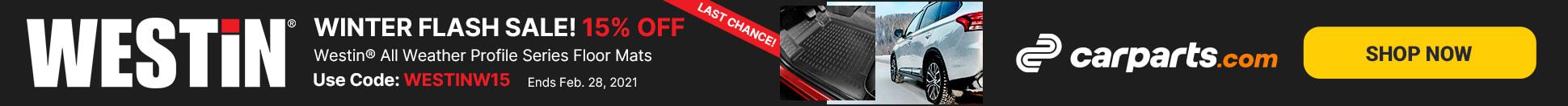 westin profile series flash sale last chance
