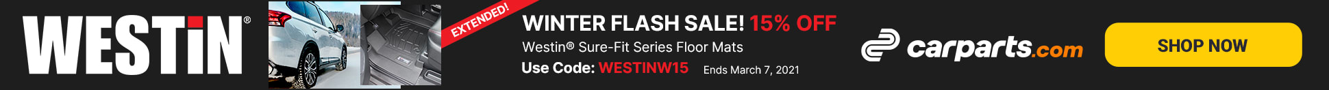 westin sure-fit series flash sale extended