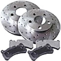 BMW 545i Brake Disc and Pad Kit