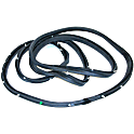 GMC K1000 Door Weatherstrip Seal