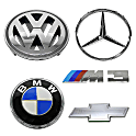 Mercedes Benz S550e Emblem
