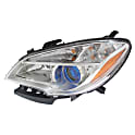 Mercedes Benz R63 AMG Headlight