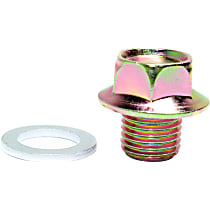 016-0088 Oil Drain Plug - Brass, Direct Fit, Sold individually