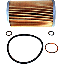Beck Arnley 041-8042 Oil Filter - Cartridge, Direct Fit, Sold individually