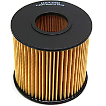 Beck Arnley 041-8190 Oil Filter - Cartridge, Direct Fit, Sold individually