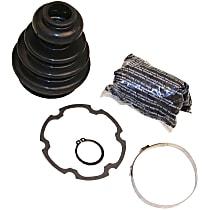 103-2147 CV Boot - Black, Direct Fit, Kit