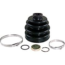 103-2505 CV Boot - Black, Direct Fit, Kit