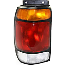 Partslink FO2800113 OE Replacement Tail Light FORD EXPLORER 1997