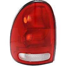 Driver Side Tail Light, Lens and Housing