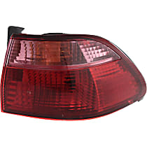 Sedan, Passenger Side, Outer Tail Light, With bulb(s)