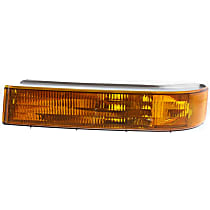 Driver Side, Below Headlamp Turn Signal Light, Without bulb(s)