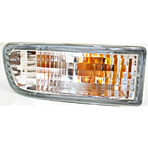 Driver Side Turn Signal Light, With bulb(s)