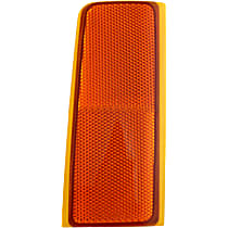 Reflector - Front, Passenger Side, Direct Fit