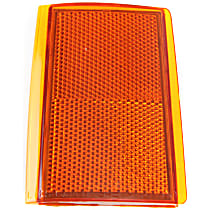 Reflector - Front, Driver Side, Upper, Direct Fit