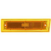 Front, Driver Side Side Marker, Without bulb(s)
