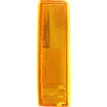 Driver Side Corner Light, Without bulb(s)