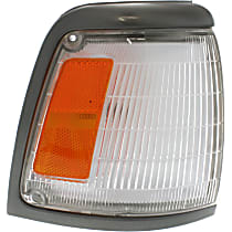 Passenger Side Corner Light, With bulb(s) - 2WD, Deluxe and SR5 Models, With Gray Trim