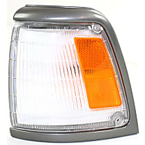 Driver Side Corner Light, With bulb(s) - 2WD, Deluxe and SR5 Models, With Gray Trim