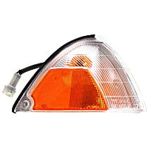 Passenger Side Corner Light, With bulb(s)
