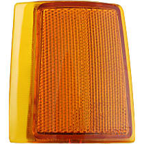 Replacement Reflector - 18-5034-01 - Front, Driver Side, Upper, Direct Fit