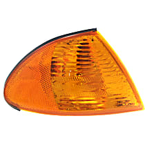 Sedan/Wagon, Passenger Side Corner Light, With bulb(s)