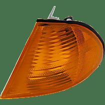 Sedan/Wagon, Driver Side Corner Light, With bulb(s)