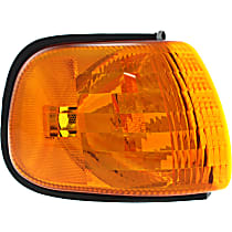 Passenger Side Corner Light, Without bulb(s)