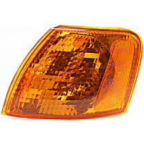 Driver Side Corner Light, With bulb(s)