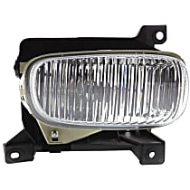 Fog Light - Passenger Side, with Steel Bumper