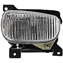 Fog Light - Driver Side, with Steel Bumper