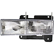 Driver Side Headlight, With bulb(s) - Composite Type, CAPA CERTIFIED