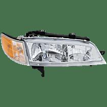 Passenger Side Headlight, With bulb(s) - With Corner Light