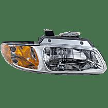 Passenger Side Headlight, With bulb(s) - Single Beam
