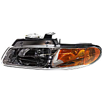 Driver Side Headlight, With bulb(s) - Single Beam