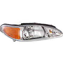 Passenger Side Headlight, With bulb(s) - Sedan/Wagon