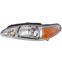Driver Side Headlight, With bulb(s) - Sedan/Wagon
