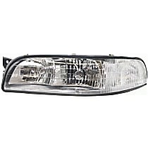 Driver Side Headlight, With bulb(s) - With Corner Light