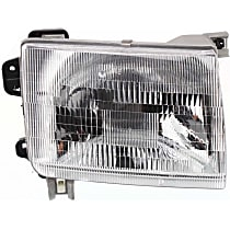 Passenger Side Headlight, With bulb(s) - Production date up to 09/99