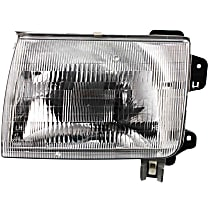 Driver Side Headlight, With bulb(s) - Production date up to 09/99