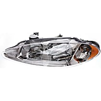 Driver Side Headlight, With bulb(s) - With Headlight Leveling