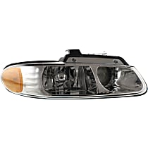 Passenger Side Headlight, With bulb(s) - Dual Beam