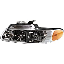 Driver Side Headlight, With bulb(s) - Dual Beam