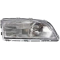 Passenger Side Headlight, With bulb(s) - Models Without Headlight Leveling