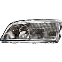 Driver Side Headlight, With bulb(s) - Models Without Headlight Leveling